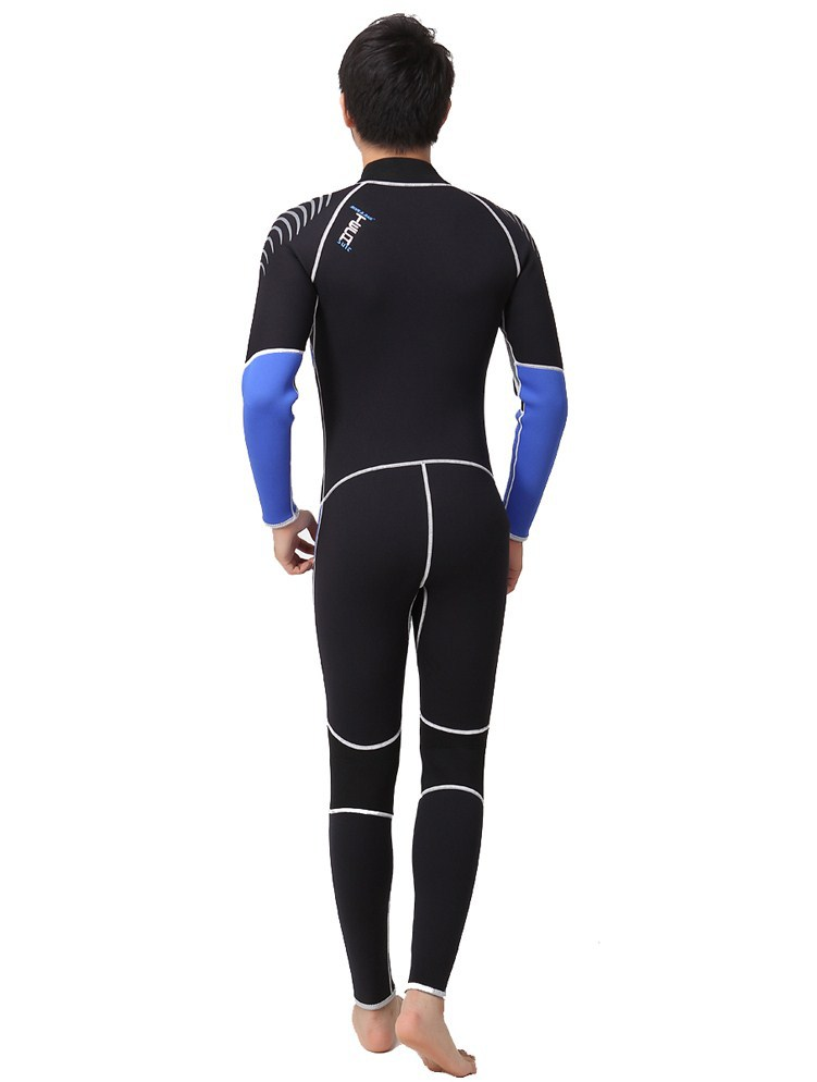 Free Shipping professional diving suits men women neoprene insulation wetsuit Winter 3mm swimming dress Snorkeling suit(China (Mainland))