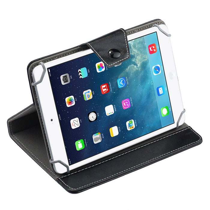 New Universal Crystal Leather Stand Cover Case For 7 Inch Tablet PC Just for you(China (Mainland))
