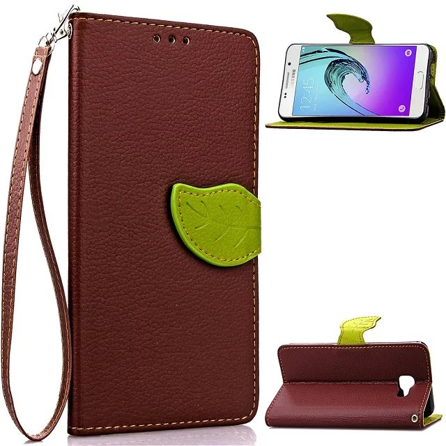 Flip Case for Samsung Galaxy A7 2016 A710 A710F A7100 Cover Wallet Leaf Flip Leather Case for Samsung Galaxy A710 A7 2016(China (Mainland))