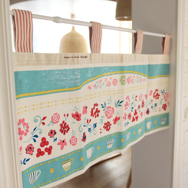 Christmas decoration cartoon curtain fluid semi shade for Dream home season 6