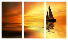 3 Panels Smooth Painting Canvas Wall Art Picture Home Decoration Living Room Canvas Print Painting(China (Mainland))