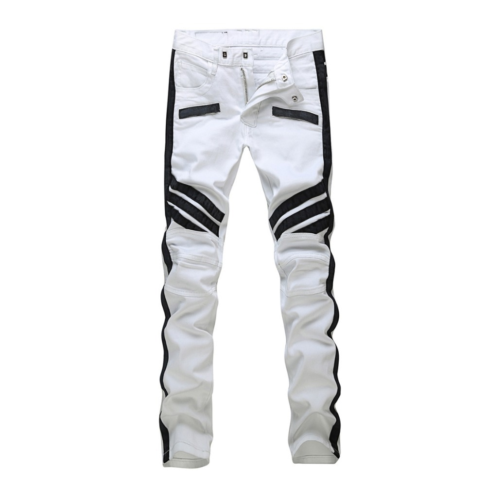 Black And White Jeans For Men Ye Jean