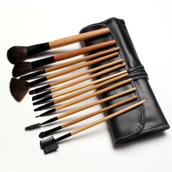 Кисти для макияжа Makeup Brush 12pcs , CPHB001 ombre bristle makeup brush 12pcs