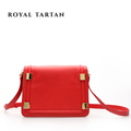 ROYAL TARTAN women messenger bags luxury handbag crossbody bag for women genuine leather shoulder bags brand