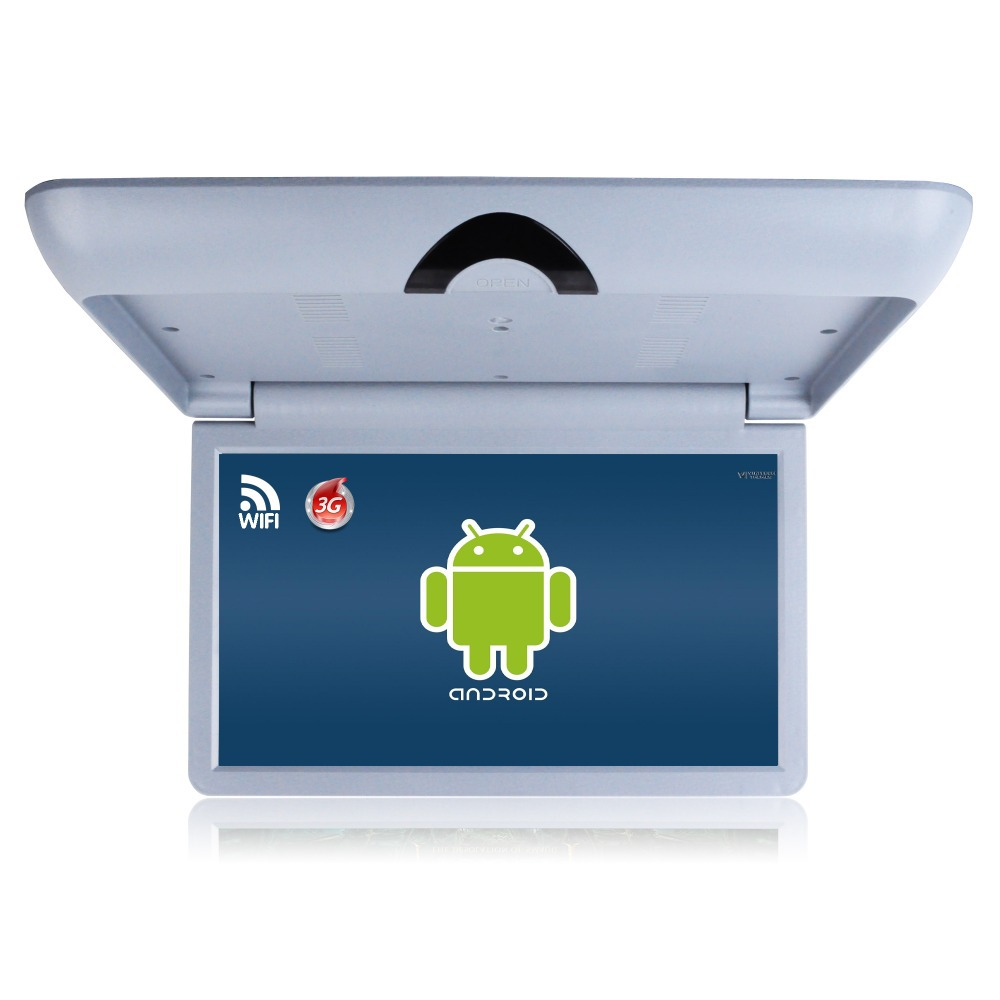19.5'' Android Bus Advertising Player wtih built in WIFI wall mounted ceilling monitor 1600X900 ABS material HD TFT display 16:9(China (Mainland))