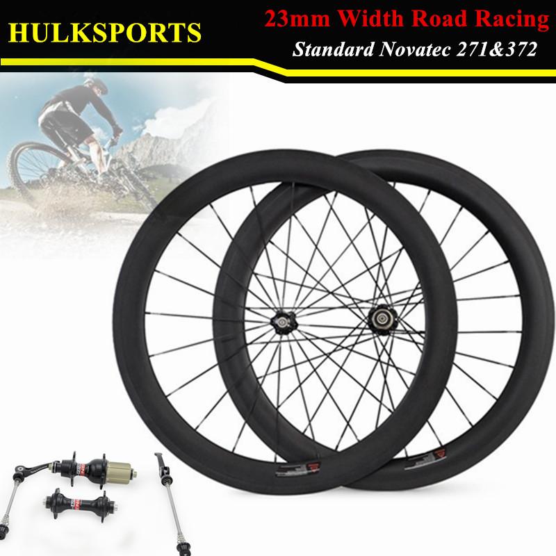 Здесь можно купить  HK-WH-60C-W23-C-F Free Shipping Carbon T700 700C 23mm wide Road Bike Carbon 60mm front  Clincher Wheel or Rear wheel  Спорт и развлечения