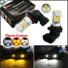 Buy 2pcs Color Switchable Xenon White/Amber Yellow SAMSUNG High Power 9006 HB4 9012 LED Bulbs Fog Lamps Driving Light Replacement for $21.35 in AliExpress store