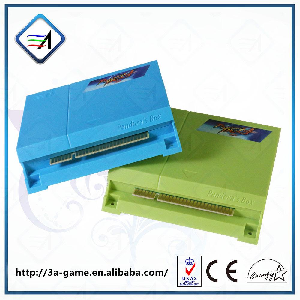 Genuine Mini Arcade Pandora 4 Coin Operated Game Machine 645 Arcade Games In 1 Board(China (Mainland))