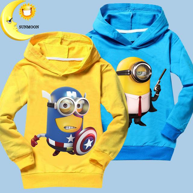2016 Новый дети мальчик девушки одежда повседневная детская одежда толстовка с капюшоном куртки пальто спорт топы с длинным рукавом кофты оптовая горячие