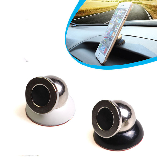 360 Degree Rotating Magnetic Multifunction Mobile Phone Holder Auto Supplies Magnet Stents Universal Car Phone Stand Holder