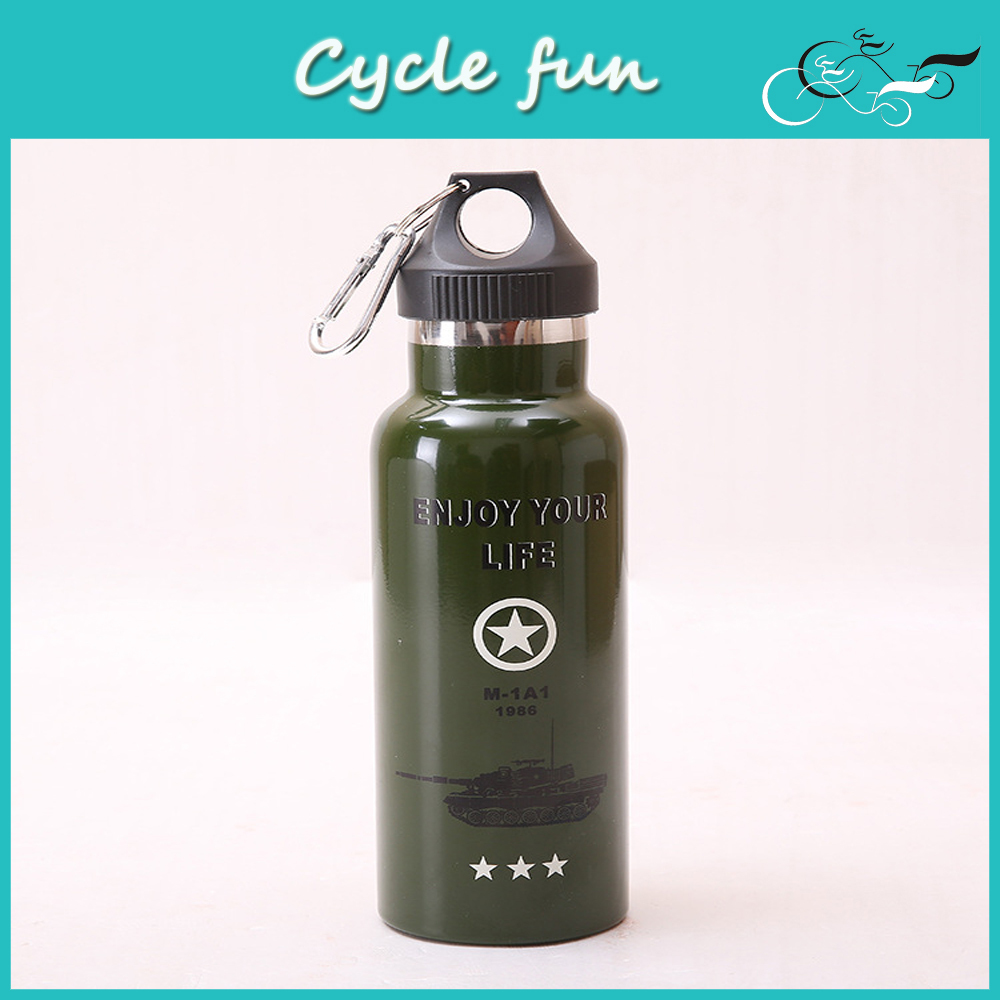 MTB Stainless Steel Vacuum Bottle Outdoor Sports Camping Travelling Hiking Climbing Water Bottle(China (Mainland))
