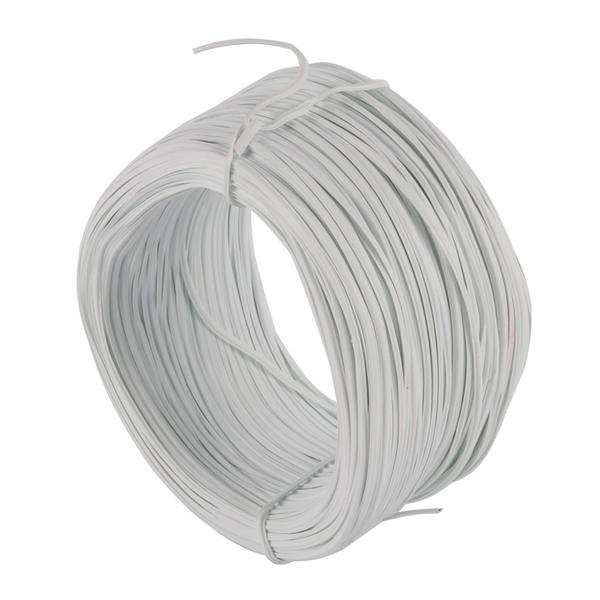0.55mm 85m Cable Tie Galvanized Tie Wire White Flat(China (Mainland))