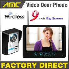 Wireless Video Door Phone Camera + Night Vision + Record + LCD