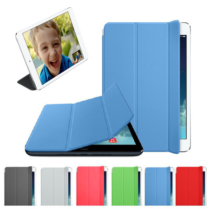 New Slim Leather Smart Cover Sleep Wake Case For iPad mini Retina 2 Jecksion(China (Mainland))