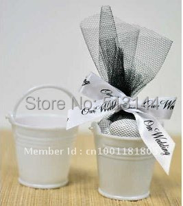 +10, Tin Pails Favors Boxes, White Mini Bucket Candy Package Cute Favors,Party Decoartion Gifts - Shenzhen Roky Co.,Ltd store