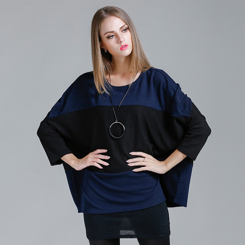 ผู้หญิงเสื้อกันหนาวเสื้อหญิงp onchoเสื้อคลุมยุโรปอเมริกันแฟชั่นฤดูใบไม้ร่วงฤดูหนาวดึงf emmeยาวเสื้อคลุมbatswingแขน ถูก