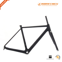 Buy Matte finish carbon road Di2 carbon cyclocross frame disc thru axle Cyclocross bike disc brake frame cyclocross frame 2017 for $579.00 in AliExpress store