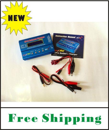 FREE SHIPPING Top quality and brand Skyrc IMax B6 Digital LCD Lipo NiMh battery Balance Charger