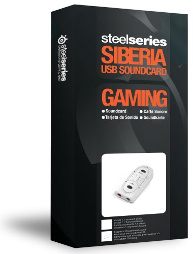 Steelseries siberia v2 External USB Sound Card Surround sound Virtual audio interface 7 1 Equalizer 3