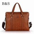 Classic Brown Color Leather Designer Brand Quality Men Bags Vintage Style Men s Business Messenger Shoulder