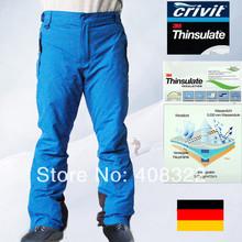 Livraison gratuite, Crivit Snowboard pantalons sml - xl étanche ski et Snowboard haletant, De haute qualité pantalon de ski pour hommes, 2014 new(China (Mainland))