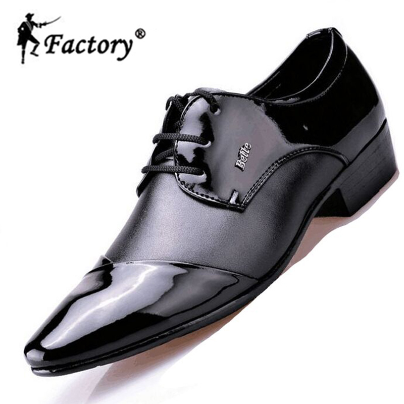 BJ factory men leather shoes business formal oxfords shoes fashionable lacing wedding shoes men dress shoes(China (Mainland))