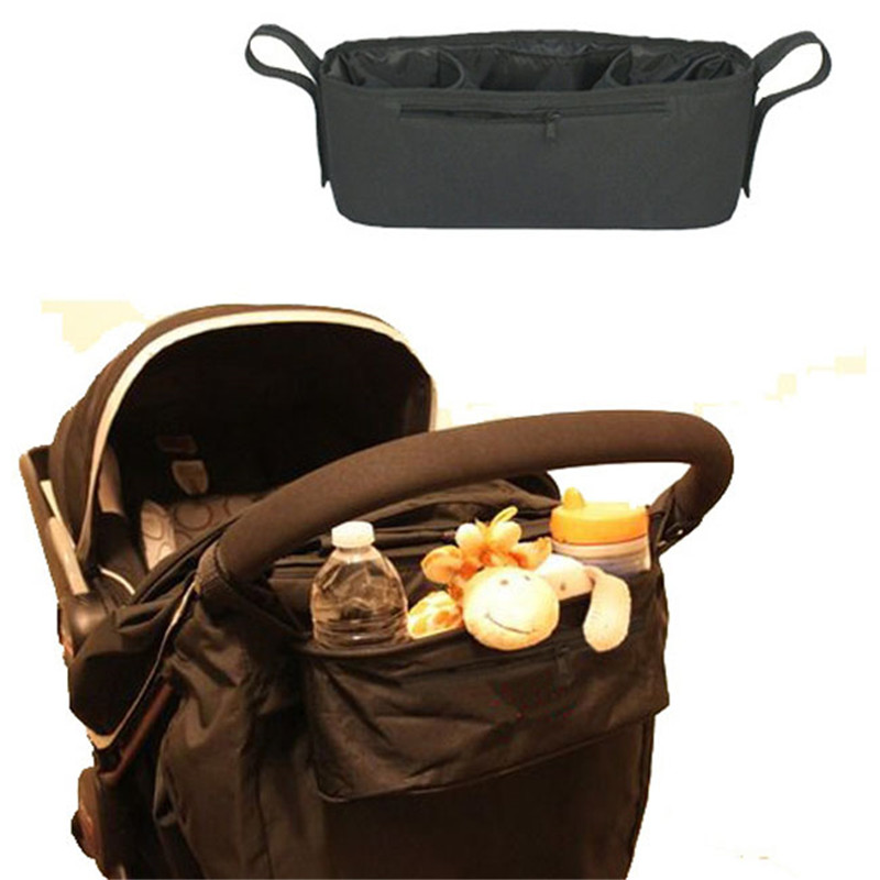 New Cup bag Baby Stroller Organizer Baby Carriage Pram Buggy Cart Bottle Bags Stroller Accessories Baby Car Bag Newest pa872416(China (Mainland))