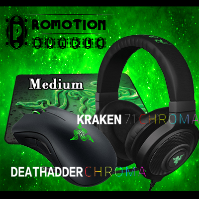 Free Shipping,Promotion Bundle,Kraken Chroma Gaming Headset+Deathadder chroma Gaming Mouse+Gift Gaming Mousepad,Brand new<br><br>Aliexpress