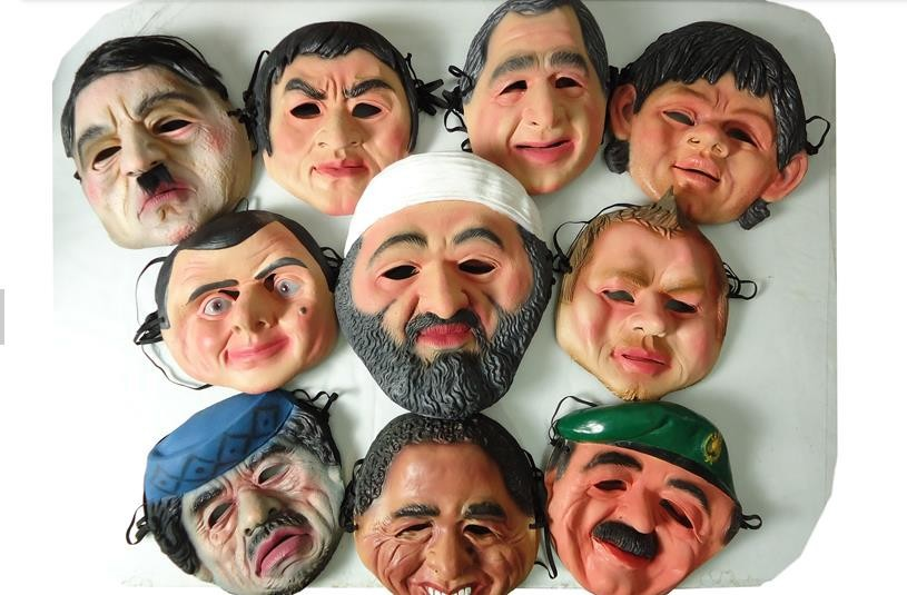 Маска для вечеринок GOOD PART STOCK 2015 1pcs/lot   Tyson face mask