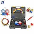 Auto Air Conditioning Refrigerant Manifold Gauge Set Diagnostic Tool R12 R22 R404a R134a