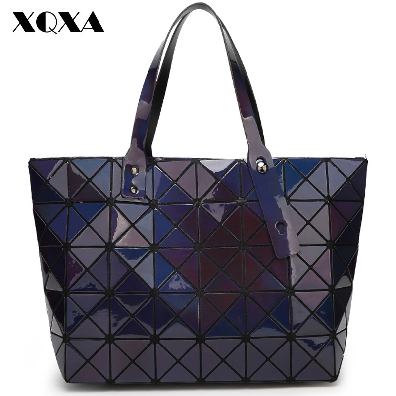 Bao Bao Famous Brand Woman Bag font b Plaid b font Tote Bag Women s Handbags