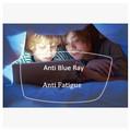1 56 Index UV 400 Index Anti Blue Ray Anti Radiation Resin Lenses Green Coating Anti