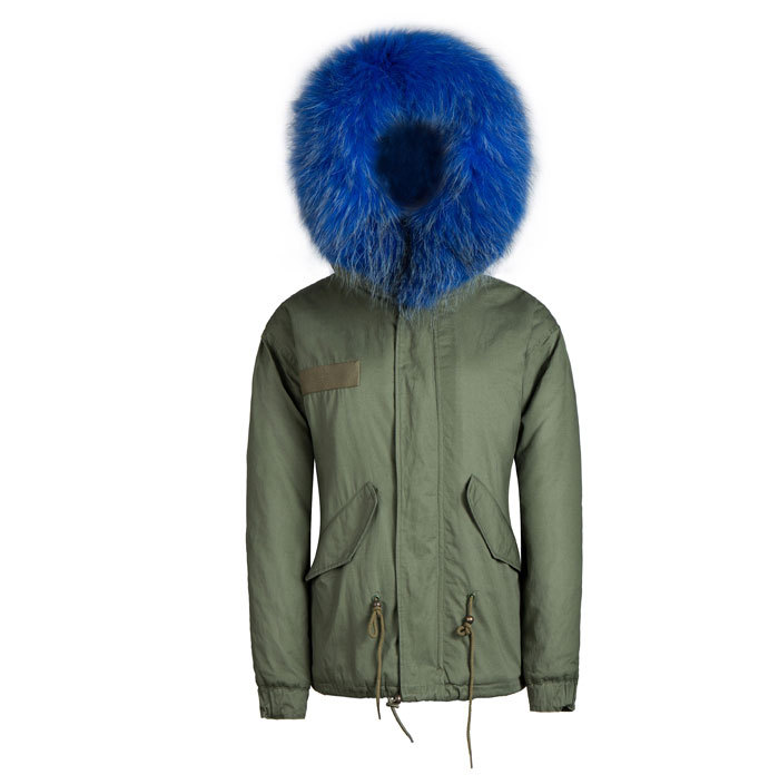Compare Prices on Blue Faux Fur Parka Coat- Online Shopping/Buy