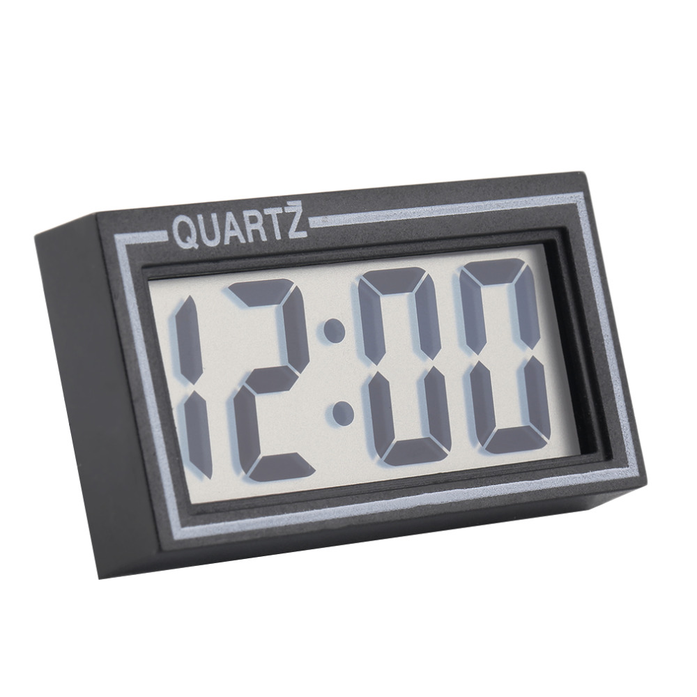 NEW Digital LCD Table Car Dashboard Desk Date Time Calendar Small Clock new arrival(China (Mainland))