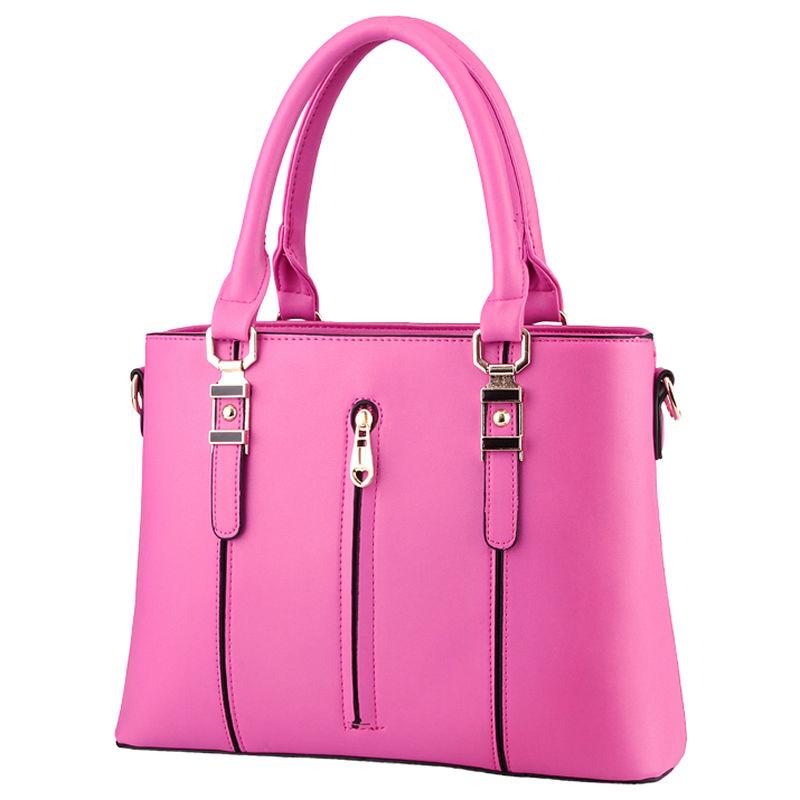 Top-handle Bags Fashion Female 2016 Elegant Women Handbags High Quality PU Leather Shoulder Messenger Casual Tote Crossbody Bag