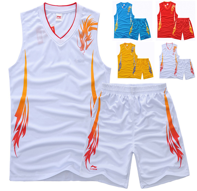 summer style high quality 100% polyester quick-dry mens basketball jersey 03 of usa team boys kids basketball shirt sets XS-5XL(China (Mainland))