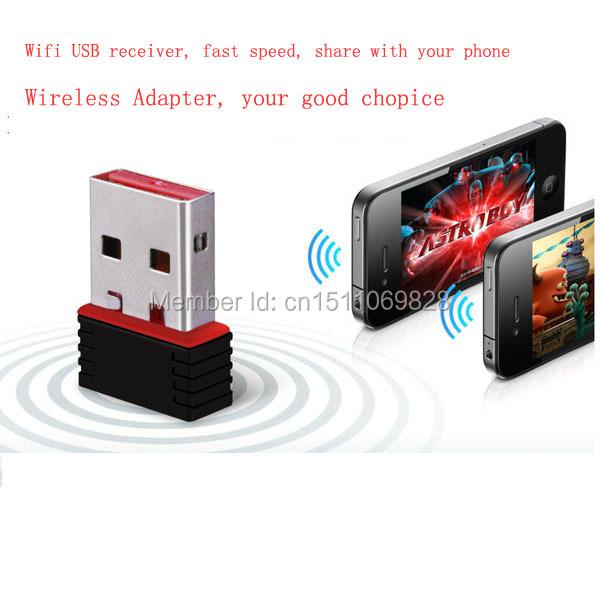 2014 Factory Price New USB Mini wi-fi adapter Wireless Adapter WI-FI Network Card 802.11n WIFI Adapter(China (Mainland))