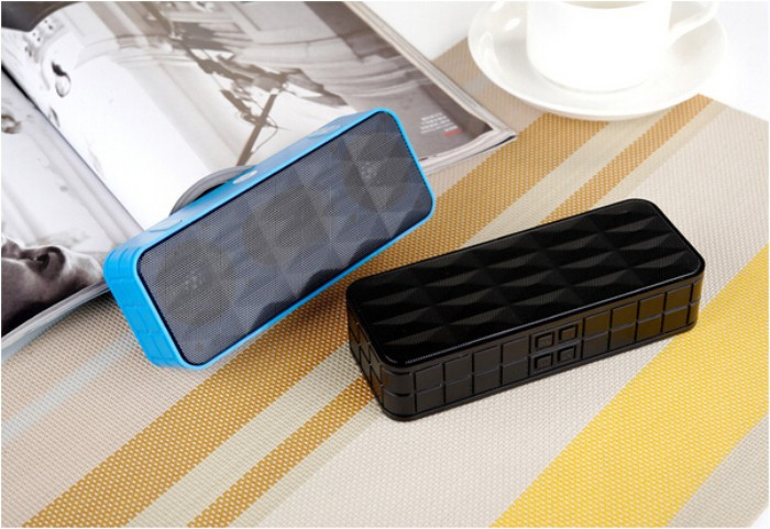 New Portable Y9 Wireless Bluetooth Stereo Speaker Handsfree Blue Tooth Speakers For iphone Samsung Tablet Mp3 Free Shipping(China (Mainland))