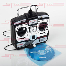 New 16 IN 1 USB 6CH JTL-0904A Real Flight Simulator With Transmitter for RC Plane Quadcopter Dron Remote Control Toy Drop Ship(China (Mainland))