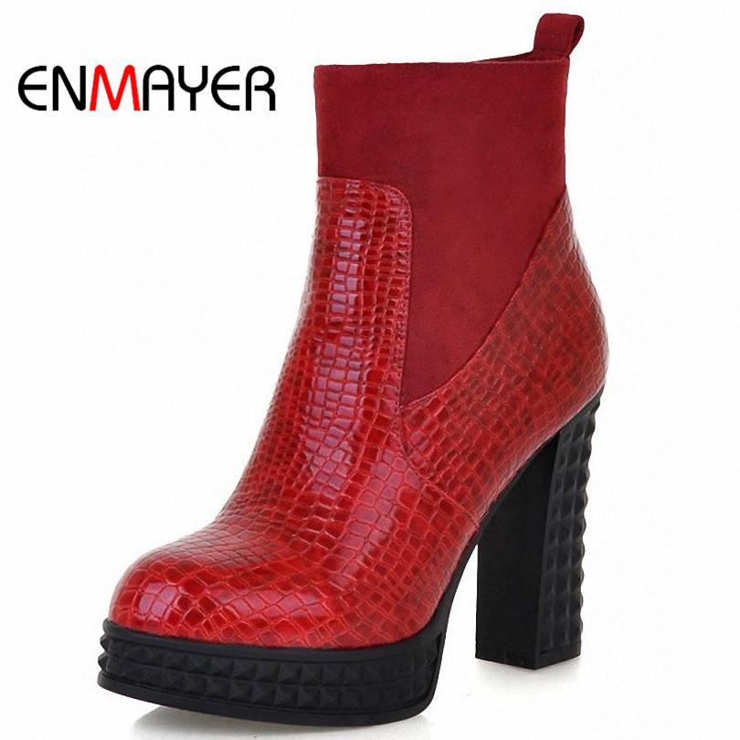 Женские ботинки ENMAYER Zip