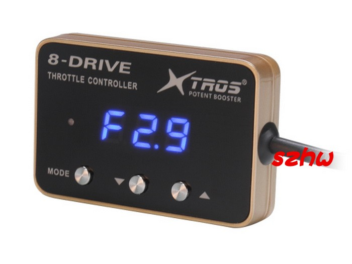 Potent Booster 6th 8-Drive Electronic Throttle Controller, AK-719 for Infiniti G35 F35 F45 2002~08, Nissan 350Z, 370Z