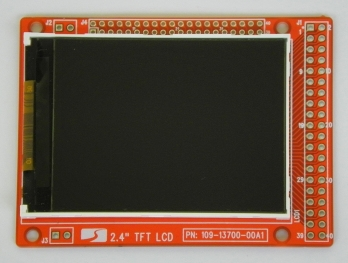 2.4 inch TFT LCD Color Screen No Touch Panel 320*240 Oscilloscope Display Module(China (Mainland))