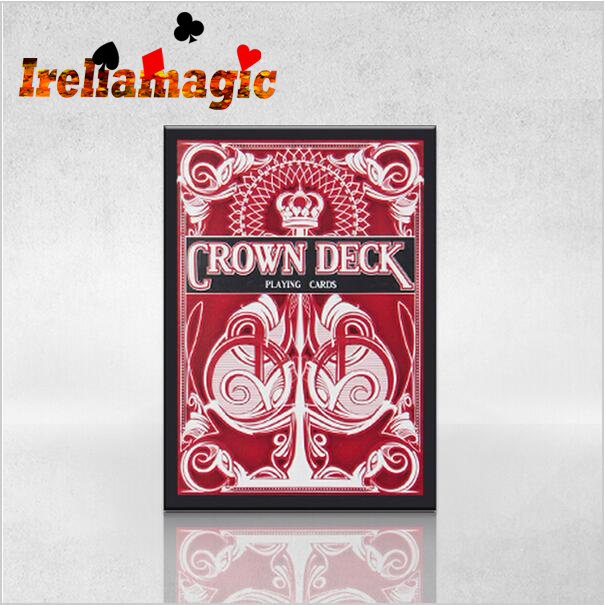 1PCS The Crown V2 Decks(red or blue or green) / Ireliamagic collection poker wholesale and retail<br><br>Aliexpress