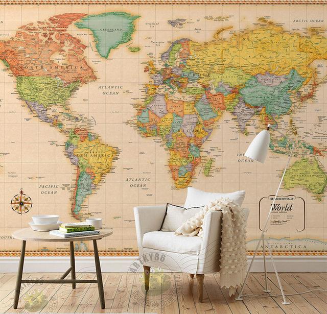 Comprar encargo papel de parede infantil - El mundo del papel pintado ...