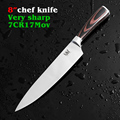 Sharp New multifunctional japan kitchen knife 8 inch chef knife stainless steel kitchen knives meat cleaver