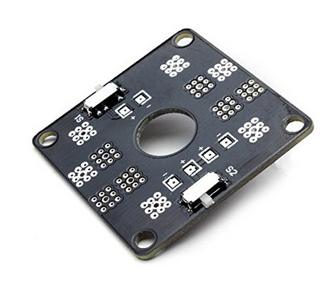 CC3D Mini Power Distribution Board LED Control for QAV250 CC3D Flight Controller(China (Mainland))