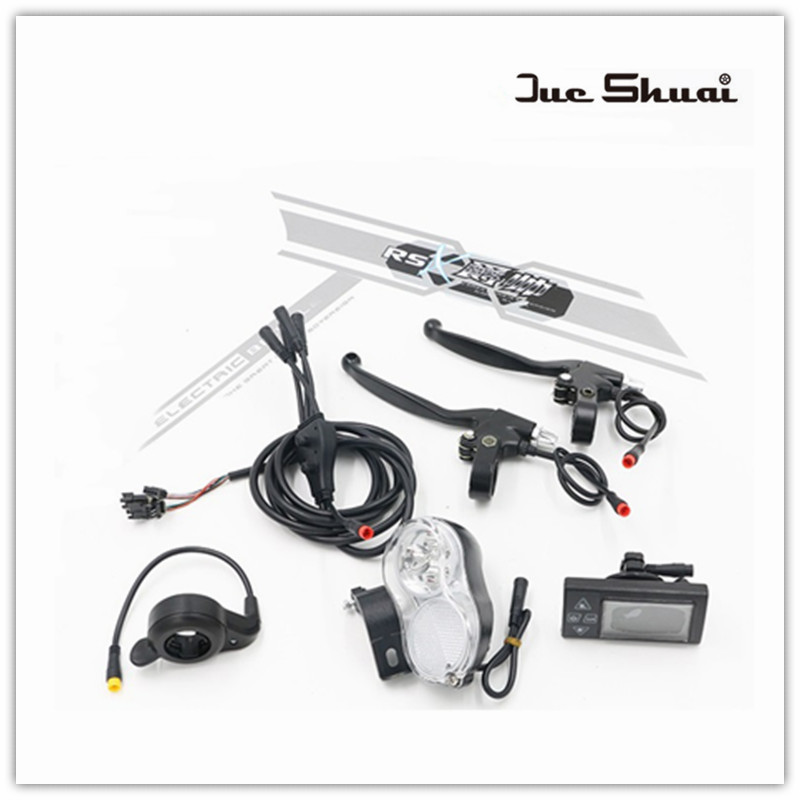 electric bicycle conversion kit lcd display front light