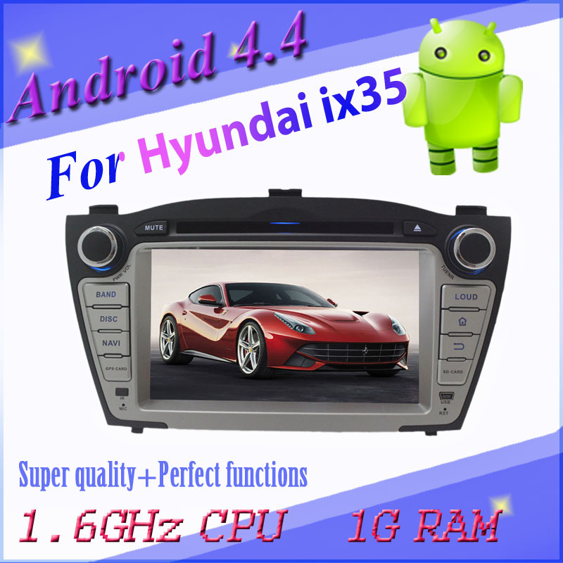 1024*600 capacitive screen Android car DVD Hyundai TUCSON / IX35 3g wifi gps navigation radio bt map can bus - All real photo all selected products shop store