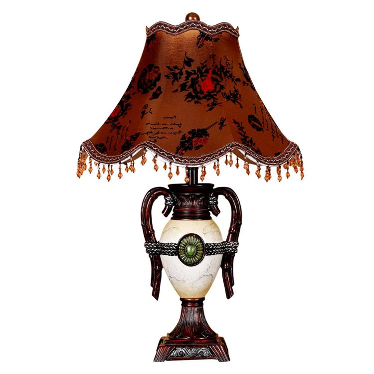 Decorazione di Cerimonia Nuziale creativo Lampada Da Tavolo In Tessuto ...
