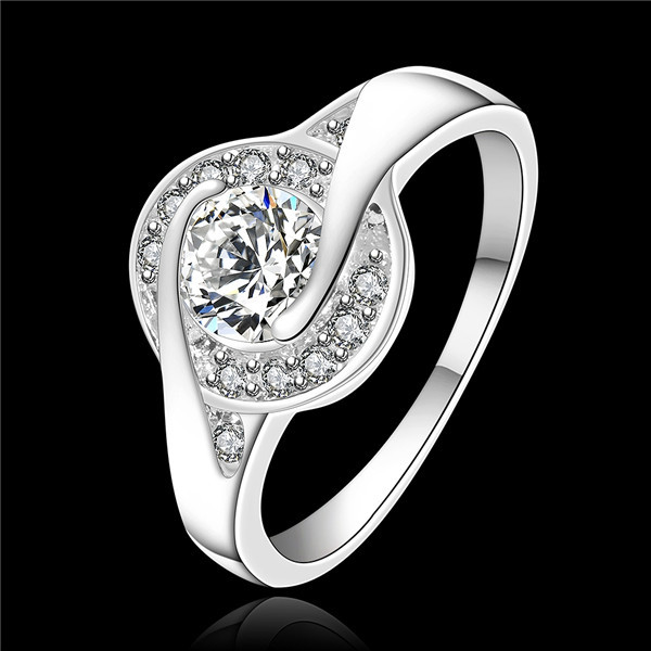 top quality 925 silver ring fashion engagement rings for